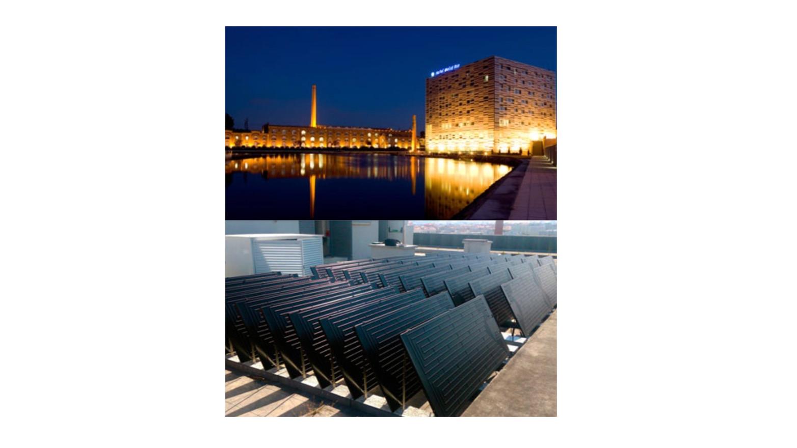 Energie SHW: Hotel (12,000 ltr / 3,150 gal)