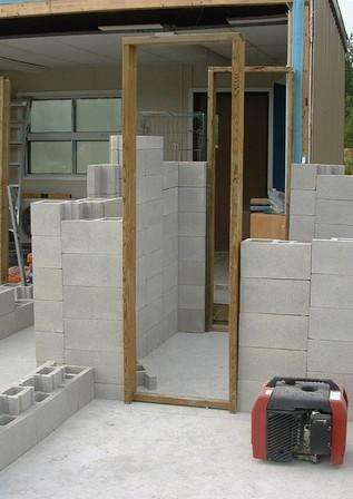 Villa Under Construction using SmartBlock Concept (Canada)