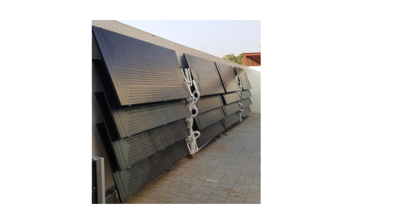 Energie SHW: Commercial application (stacked on roof)