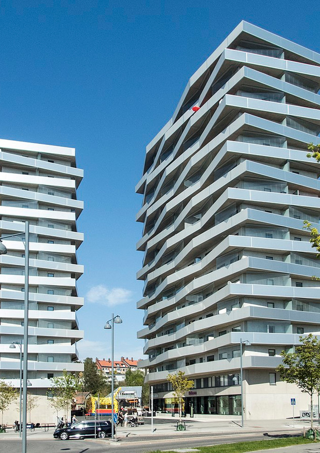 TermoDeck: 2 Tower Residential Project Sweden