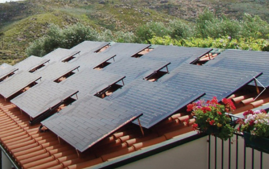 Energie SHW roof application