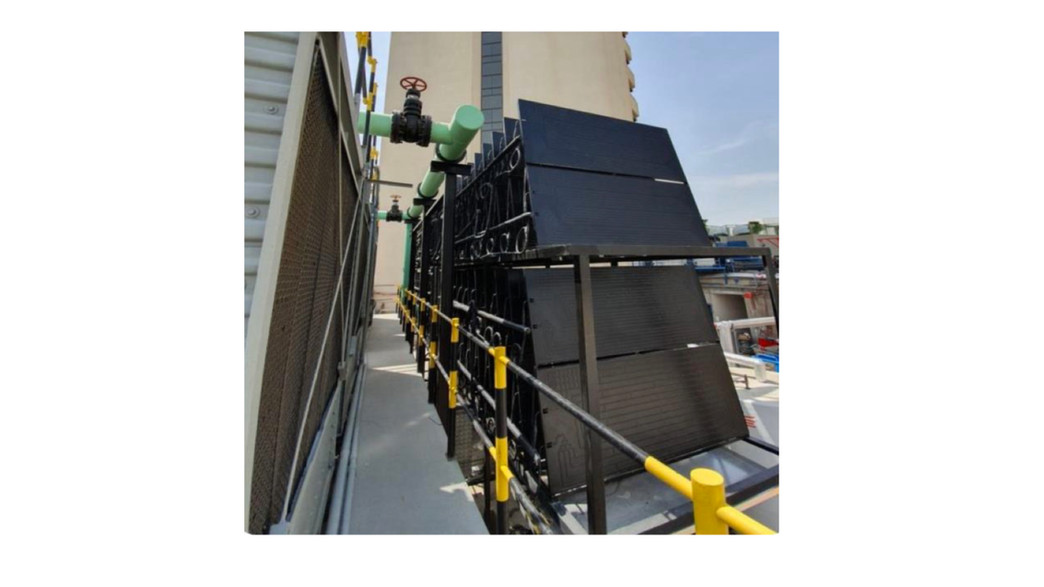 Energie SHW: Hotel application + cooling fresh air at AHU inlet