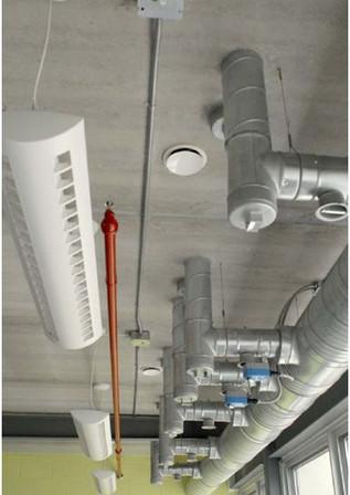 TermoDeck: Interior of Training Center (Canada)