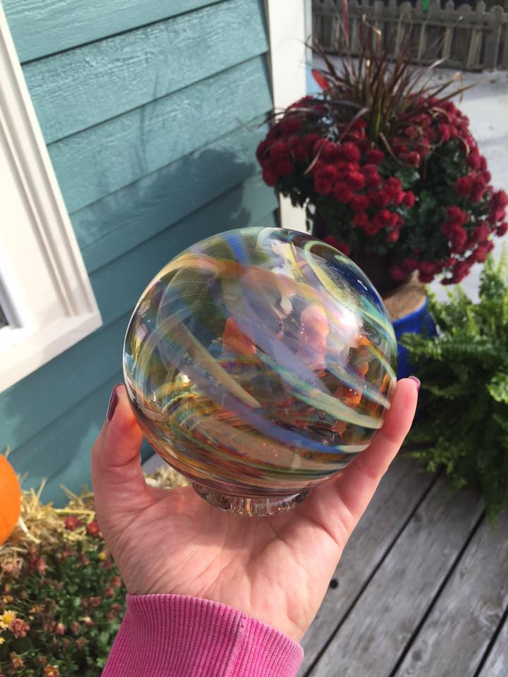glass ocean floats at the Oregon Coast