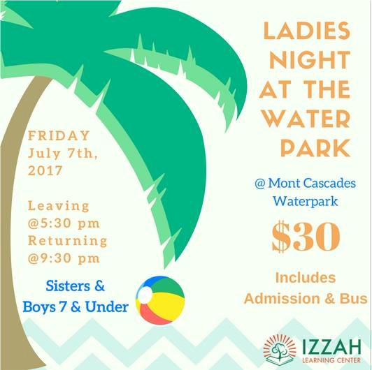 Annual Ladies Night @ Water Park