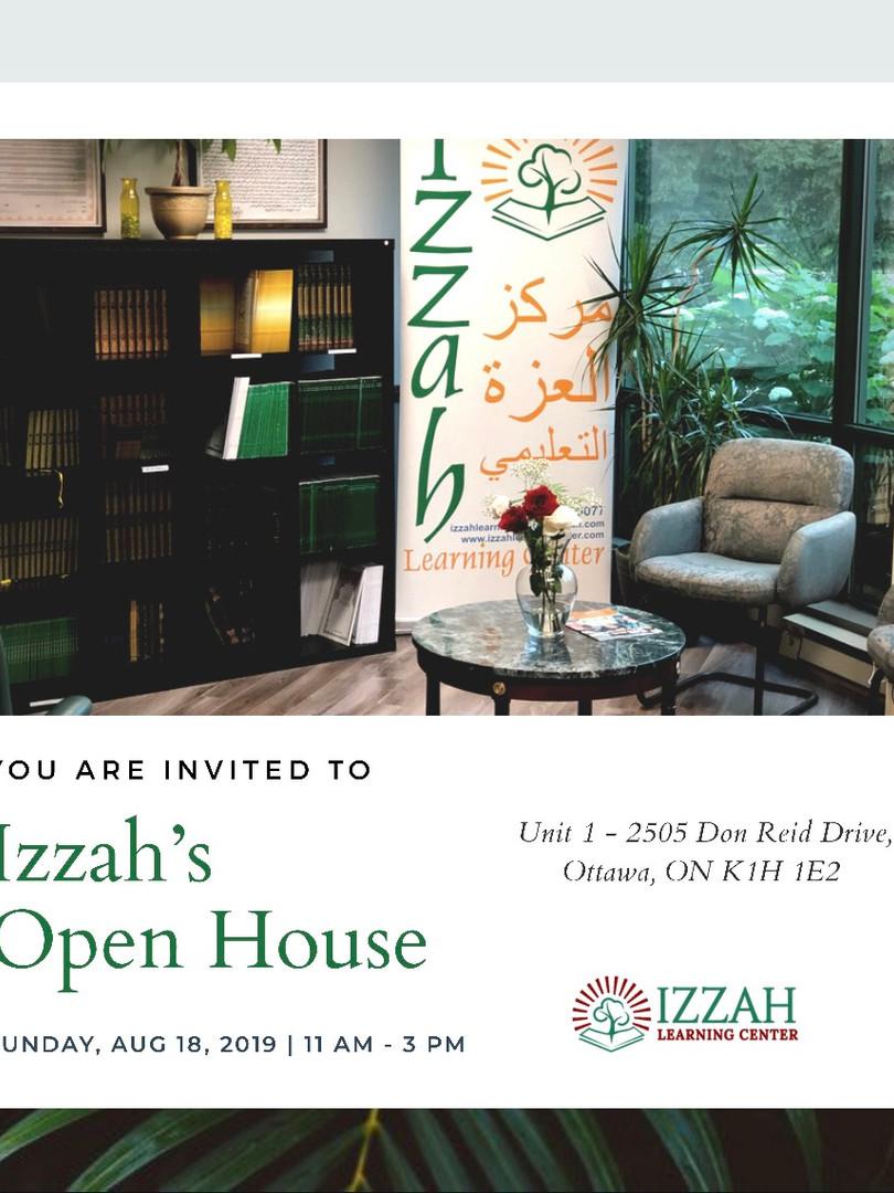 IZZAH'S OPEN HOUSE