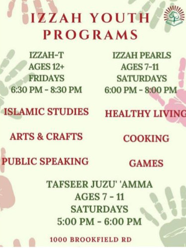 IZZAH YOUTH PROGRAMS