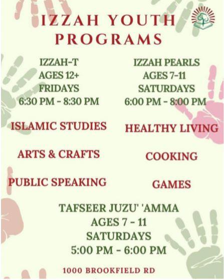 IZZAH YOUTH PROGRAMS