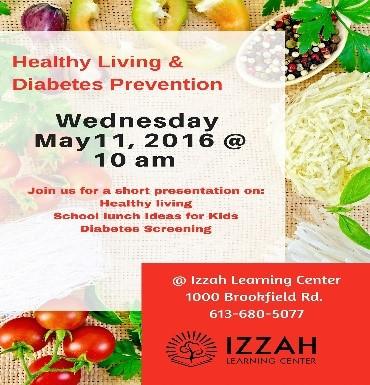Healthy Living & Diabetes Workshop