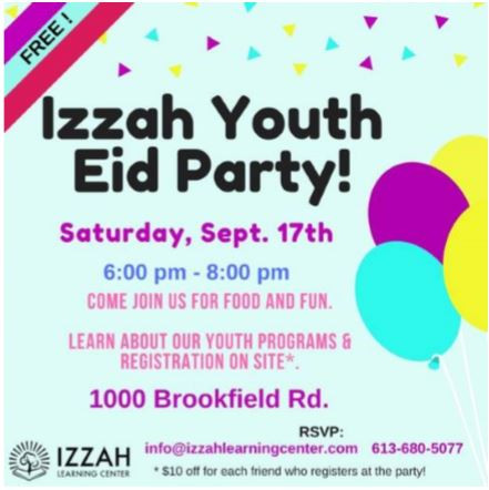 IZZAH YOUTH EID PARTY