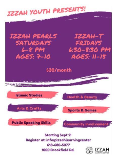 IZZAH YOUTH PRESENTS