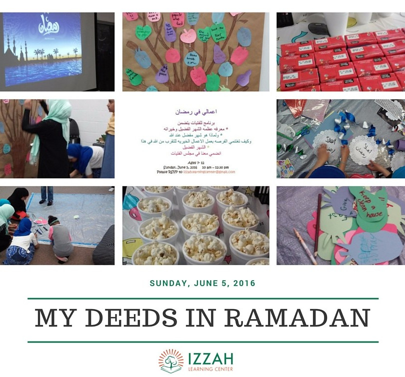 My Deeds in Ramadhan – Workshop for Youn