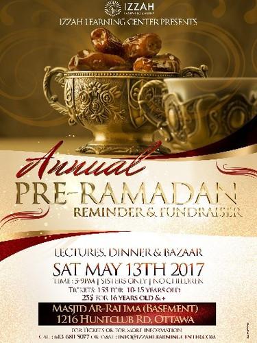 Pre-Ramadhan Lecture, Dinner, Bazaar