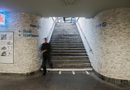 Löwengässchen-Passage, Bahnhof Schaffhausen