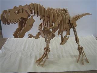 ウッドクラフト*恐竜