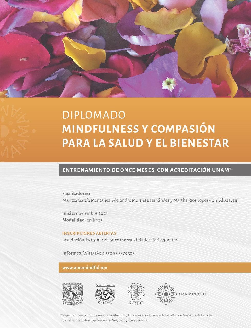 Diplomado Mindfulness y Compasión UNAM