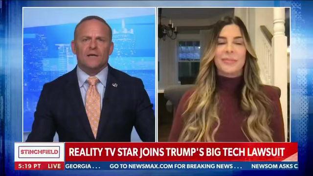 JEXIT spokeswoman and AFP Club member  Siggy Flicker joins Trump's lawsuit against Big Tech!