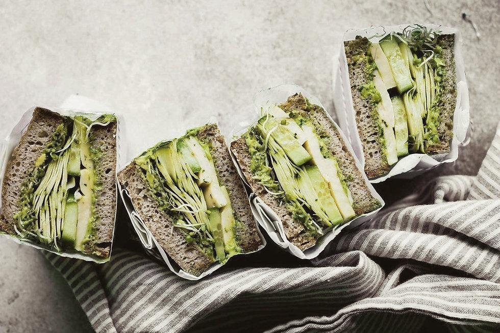 sandwich #avocado #comida faciles y rapi