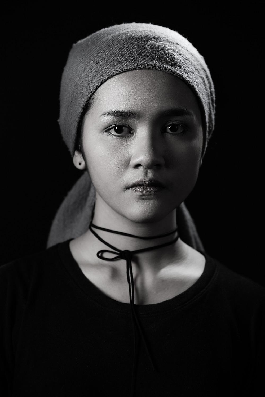 Portrait art concept,fashion
