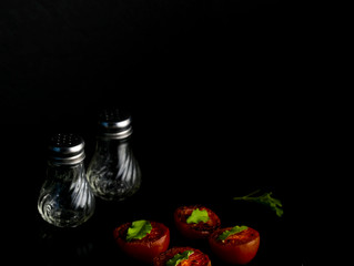 Creative Food Photography Art concept