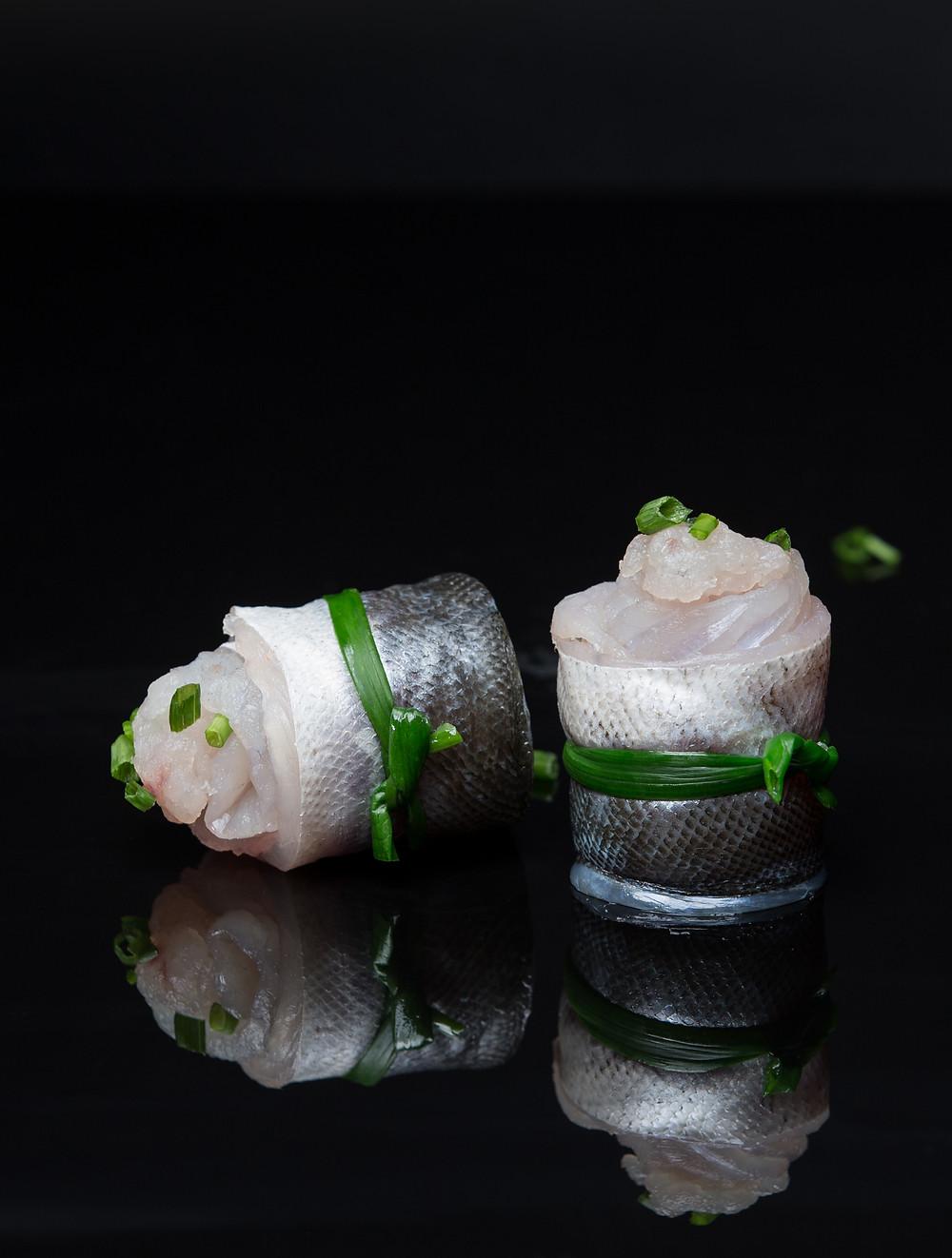 Fish food creative (Barracuda,Seapike)