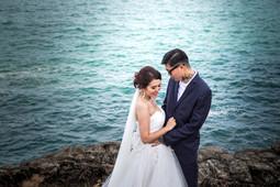 Pre-wedding in Phuket,Location Phromthep Cape Phuket,Thailand. Photographer By Narong Rattanaya.