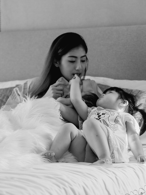 Photographey Family in Bangkok .
