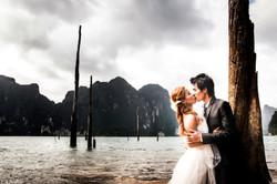 pre wedding Rajjaprapha Dam