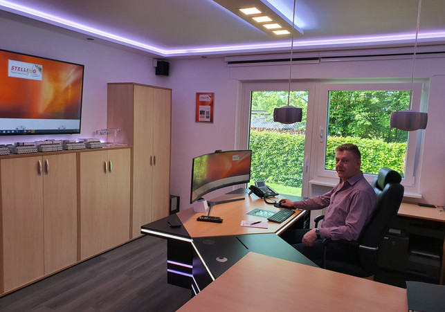 Harald Arbeitsplatz