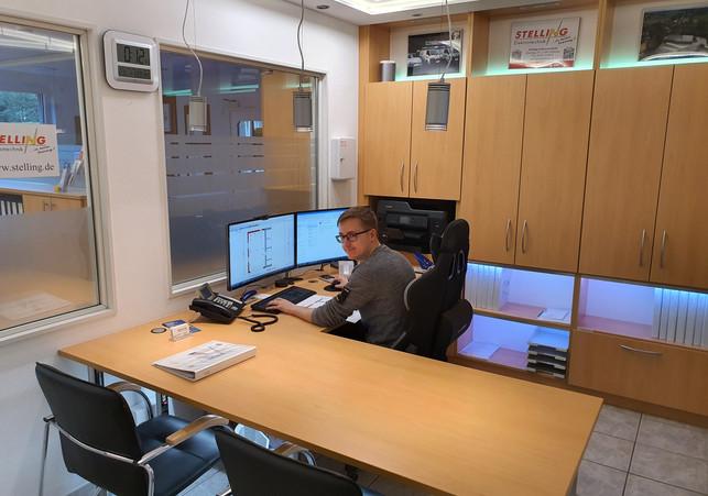 Dennis Arbeitsplatz