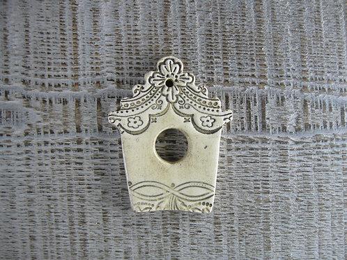 Mini nichoir oiseau céramique