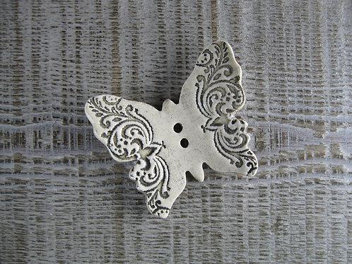 Papillon en céramique romantique