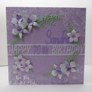 Pretty lilac 70th