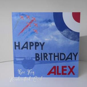 A Birthday card for an Air Cadet