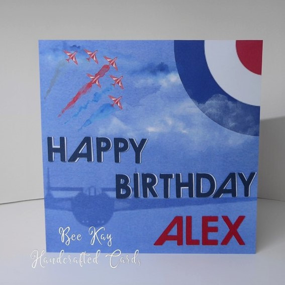 A Birthday card for an Air Cadet