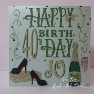 40th includes special shoes
