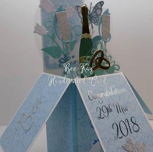 Wedding inc roses & butterflies