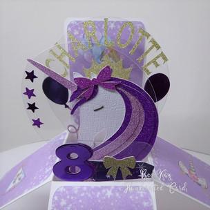 Princess crown & unicorn