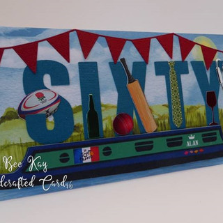 Multi interests decorate a canal boat