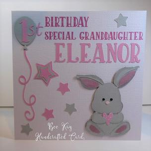 Bunny for a Ist Birthday