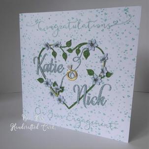 An Engagement card