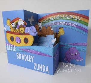 3D animals in Noah's Ark