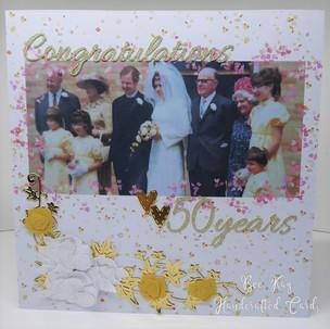 Golden Wedding inc wedding photo