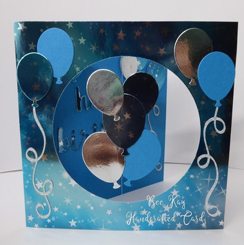 Turquoise balloons /50