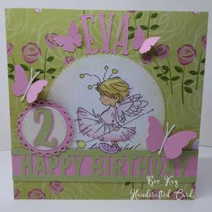 A sweet birthday fairy