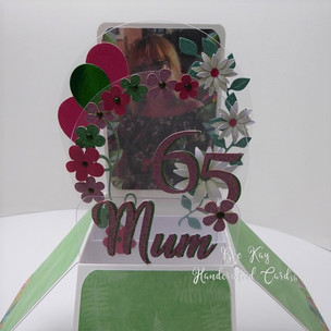 Mum - includes photo on back panel