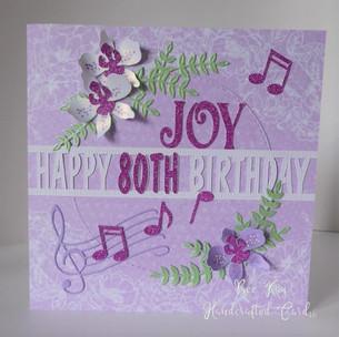 Pretty lilac music & flowers