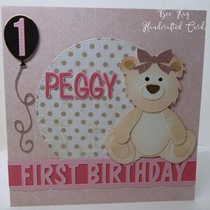 Teddy for a First Birthday