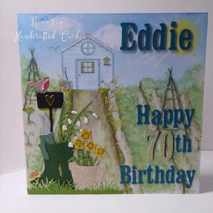 70th birthday for a gardener