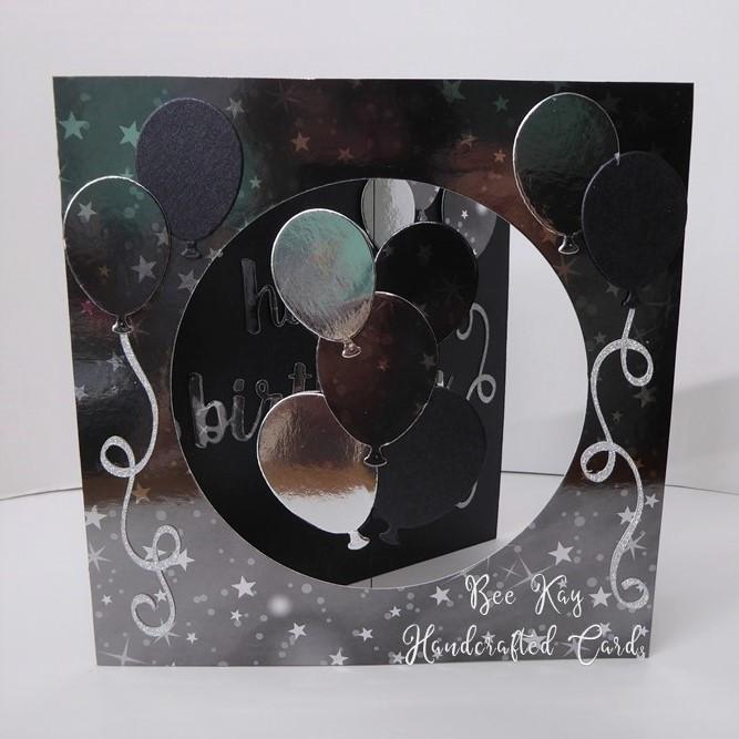 Black Silver balloons /51